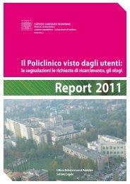 Report 2011 - Policlinico di Modena