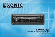 Exonic 250 - Ample Audio