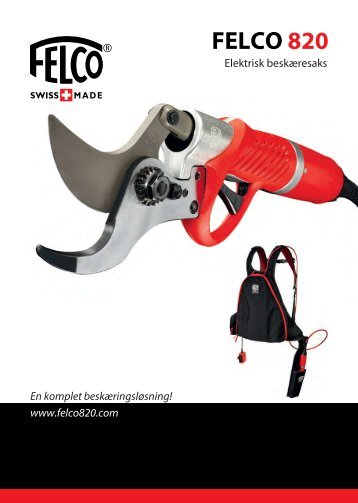 about the FELCO 820