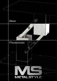 Basi Pedestals - Calibra Marine International