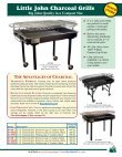 BJG Catalog 2013 - gas grills, charcoal grills, charcoal rotisseries - Page 5