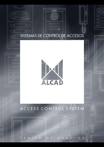 catálogo sistemas de control de accesos - Alcad