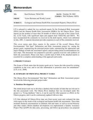 Ottawa_River_Risk_Assessment - Toledo Metropolitan Area Council ...