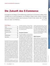 Die Zukunft des E-Commerce