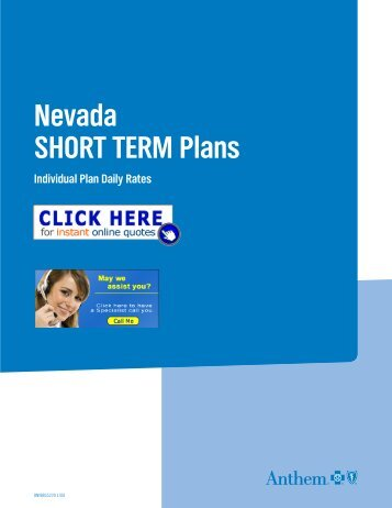 Short-Term plans brochure - Health Insurance