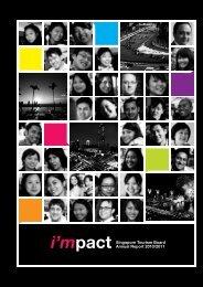 i'mpact Singapore Tourism Board Annual Report 2010/2011