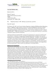 Read the comment letter - Financial Services Institute