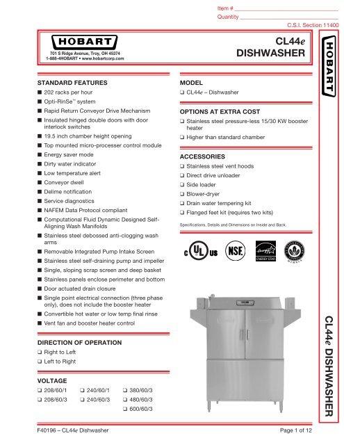 wiring diagram for hobart cl44e dishwasher hobart am 14 dishwashercl44e dishwasher cl44 e dishw asher hobart on hobart am 14 dishwasher parts, asko hobart cl44e dishwasher service manual