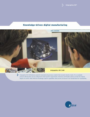 Knowledge-driven digital manufacturing