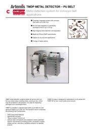 TMDP METAL DETECTOR – PU BELT Metal ... - Eclipse Magnetics