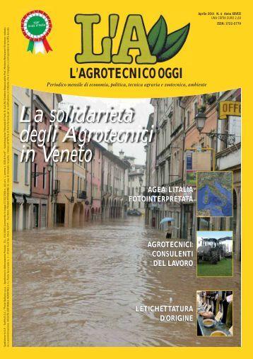 L'Agrotecnico Oggi aprile 11 - Collegio Nazionale degli Agrotecnici