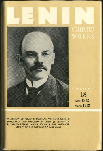 Lenin CW-Vol. 18-TC.pdf - From Marx to Mao