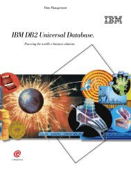 IBM DB2 Universal Database.