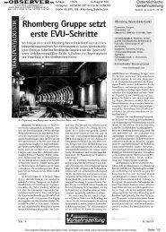 Österreichische Verkehrszeitung Österreichische Verkehrszeitung