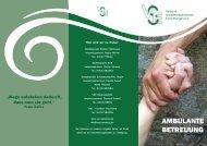 Flyer Ambulante Betreuung für psychisch erkrankte ... - beim VSE