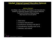 EduNet: Internet-based Education Network