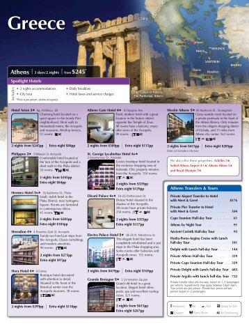 Greece - Avanti Destinations