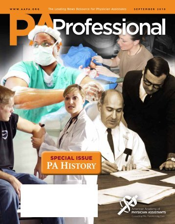 PA History - American Academy of Physician Assistants