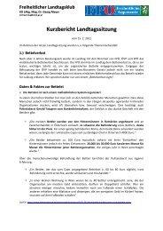 Freiheitlicher Landtagsklub - FPÖ Steiermark
