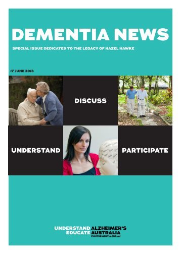 17 June 2013 - Alzheimer's Australia