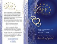 2010 Program - the AFP North Central Ohio Chapter