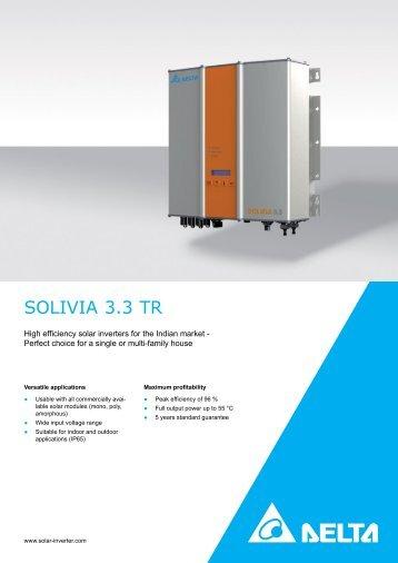 delta solivia 3.3 inverter manual