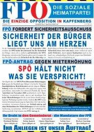 sicherheit der bürger liegt uns am herzen spö hält ... - FPÖ Steiermark