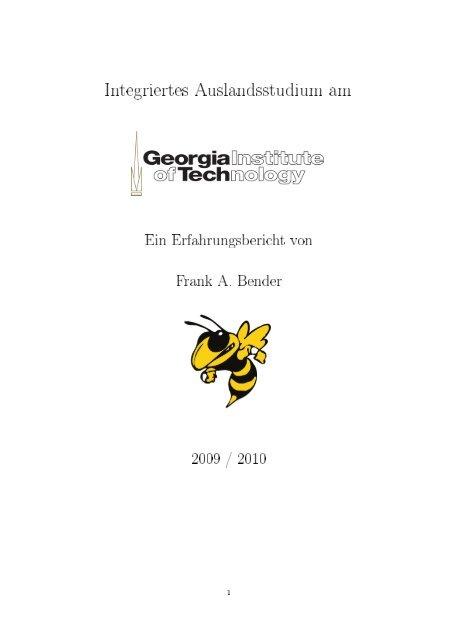Frank Bender - Institut für Angewandte und Experimentelle ...