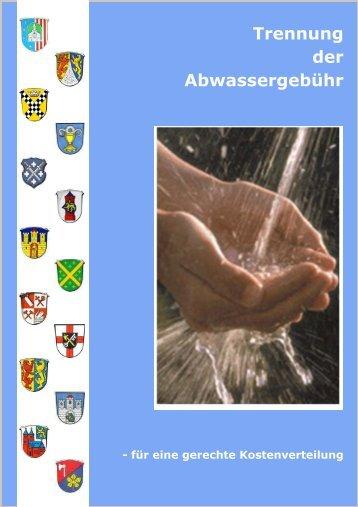 Informationsbroschüre Gesplittete Abwassergebühr