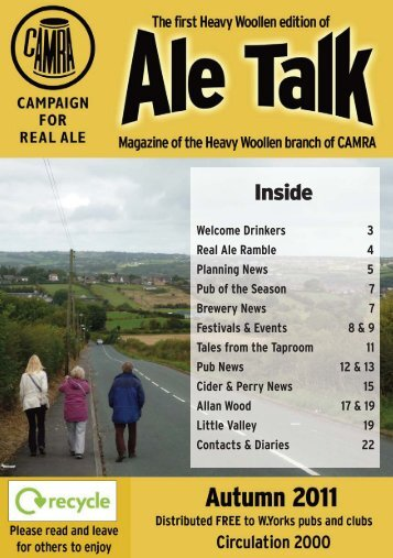 Autumn 2011 edition - Heavy Woollen CAMRA