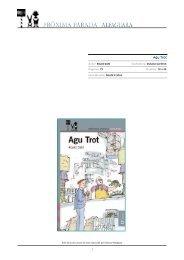 Agu Trot - Alfaguara Infantil