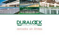 Catálogo Duralock de vallados (pdf -1,2 Mb) - Lupa Iberica