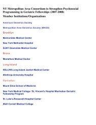 View Consortium Final Report Appendix ... - Cornell CARES