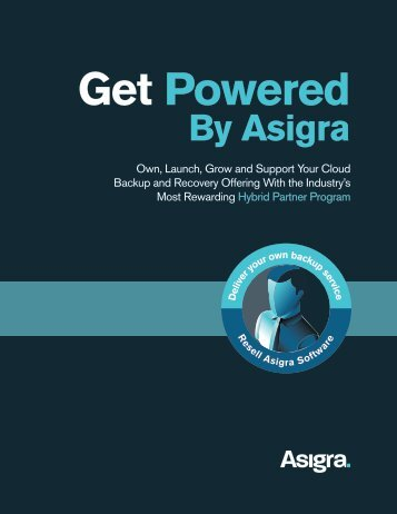 Get Powered by Asigra