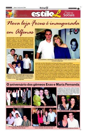 Caderno L 14 DE JUNHO 1 nov.p65 - Jornal dos Lagos