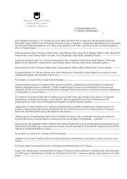 Acta Consejo Directivo, 1º Sesión ordinaria - Facultad de Ciencias ...
