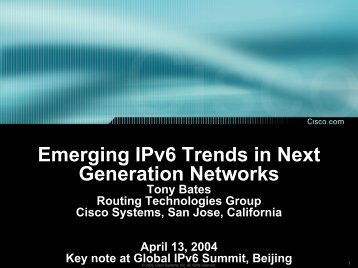 Telecom and networking trends