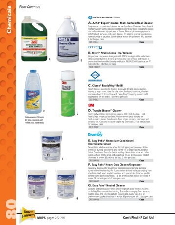 Chemicals Janitorial - LocalEdge | Demo Sites