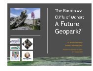 Burren Connect Project - Geological Survey of Ireland