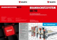 Installationsschacht IBS 90 - Würth