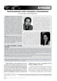 Posicionamiento web: conceptos y herramientas - Lluís Codina