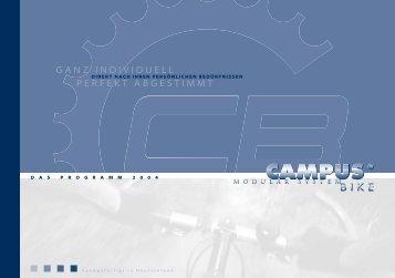 Campus Programm Elecktro 2004 - better bikes