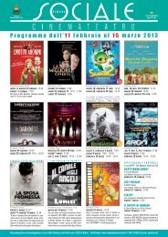 cinema sociale - La Cineteca del Friuli