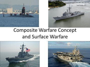 Composite Warfare Concept and Surface Warfare