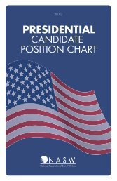 2012 Presidential Candidate Position Chart - National Association of ...
