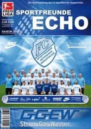 Sportfreunde-Echo 2013/14 - FC Sportfreunde Heppenheim