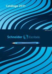 Catálogo 2011 - Schneider Schreibgeräte GmbH