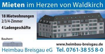Expose - Heimbau Breisgau eG