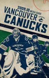 VANCOUVER CANUCkS - SB Nation