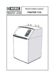 FIGHTER 1110 - nibe-technik.cz
